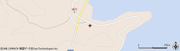 大分県津久見市長目584周辺の地図