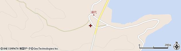大分県津久見市長目607周辺の地図