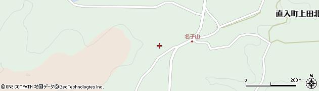 大分県竹田市直入町大字上田北1253周辺の地図