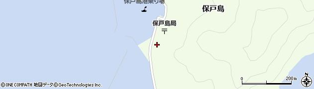 大分県津久見市保戸島1511周辺の地図