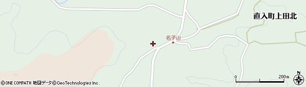 大分県竹田市直入町大字上田北1258周辺の地図