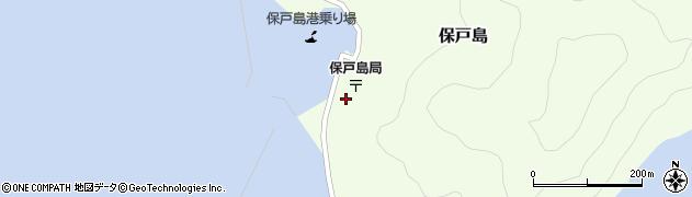 大分県津久見市保戸島1509周辺の地図