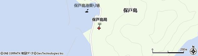 大分県津久見市保戸島1508周辺の地図