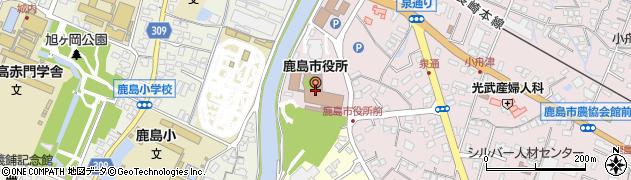 佐賀県鹿島市周辺の地図
