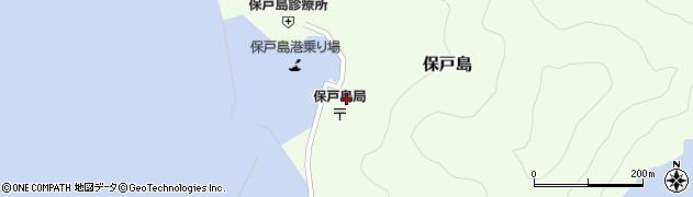 大分県津久見市保戸島1505周辺の地図