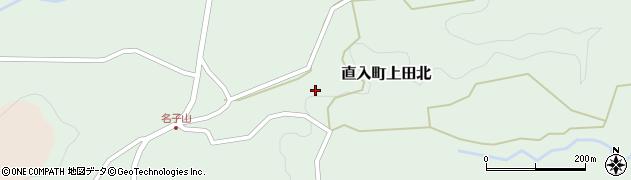 大分県竹田市直入町大字上田北1315周辺の地図