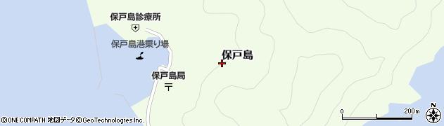 大分県津久見市保戸島1459周辺の地図