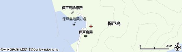 大分県津久見市保戸島1496周辺の地図