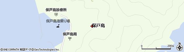 大分県津久見市保戸島1425周辺の地図