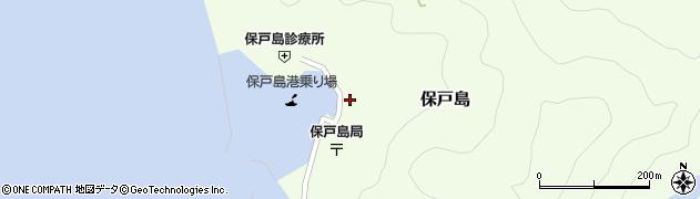 大分県津久見市保戸島1483周辺の地図
