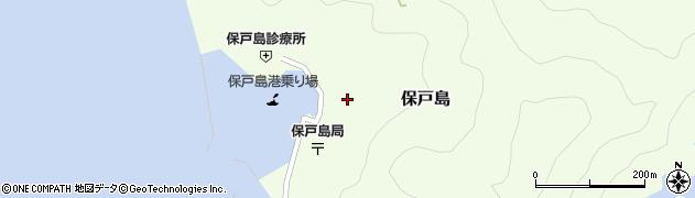 大分県津久見市保戸島1465周辺の地図