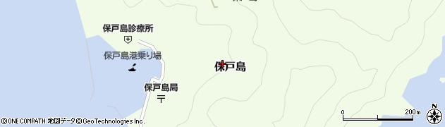 大分県津久見市保戸島1410周辺の地図