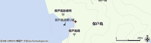大分県津久見市保戸島1477周辺の地図