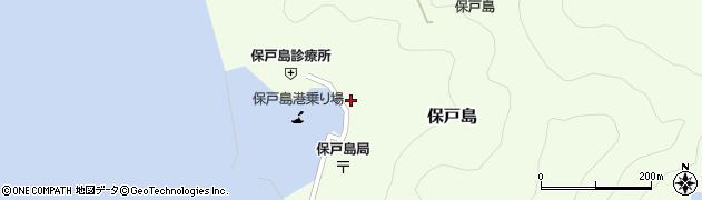 大分県津久見市保戸島1474周辺の地図
