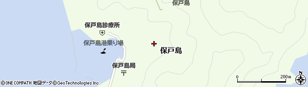 大分県津久見市保戸島1421周辺の地図