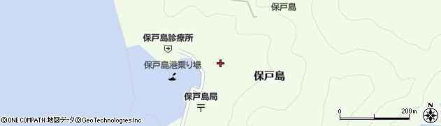 大分県津久見市保戸島1470周辺の地図