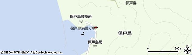 大分県津久見市保戸島1150周辺の地図