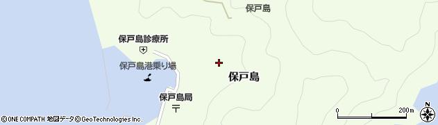 大分県津久見市保戸島1419周辺の地図