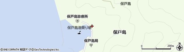 大分県津久見市保戸島1450周辺の地図