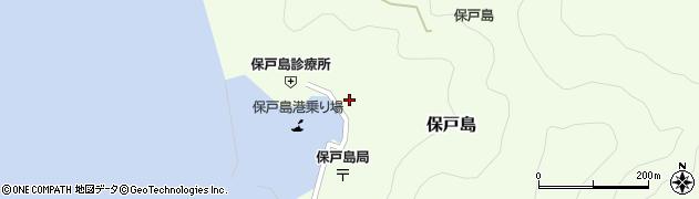 大分県津久見市保戸島1153周辺の地図