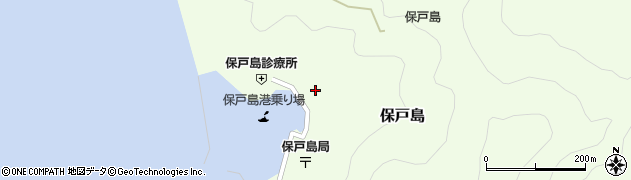 大分県津久見市保戸島1158周辺の地図