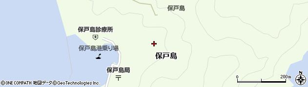 大分県津久見市保戸島1300周辺の地図