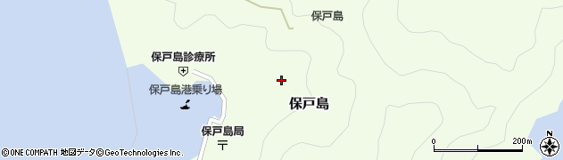 大分県津久見市保戸島1320周辺の地図