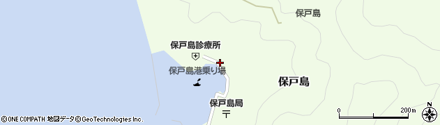大分県津久見市保戸島1142周辺の地図