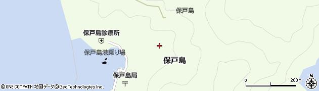 大分県津久見市保戸島1313周辺の地図