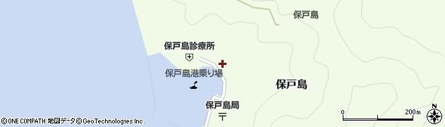 大分県津久見市保戸島1146周辺の地図