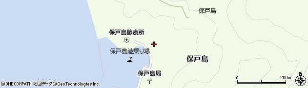 大分県津久見市保戸島1159周辺の地図
