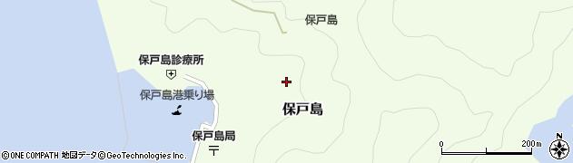 大分県津久見市保戸島1323周辺の地図