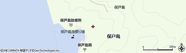大分県津久見市保戸島1178周辺の地図