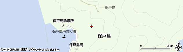 大分県津久見市保戸島1198周辺の地図
