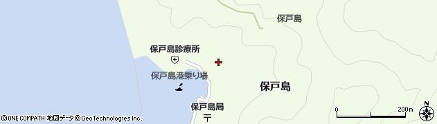 大分県津久見市保戸島1168周辺の地図