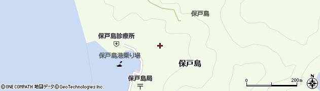 大分県津久見市保戸島1179周辺の地図
