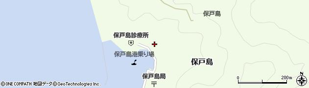大分県津久見市保戸島1161周辺の地図