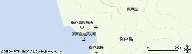 大分県津久見市保戸島1127周辺の地図