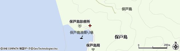 大分県津久見市保戸島1134周辺の地図
