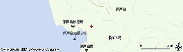 大分県津久見市保戸島1175周辺の地図