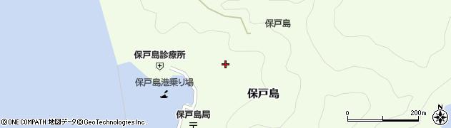 大分県津久見市保戸島1185周辺の地図