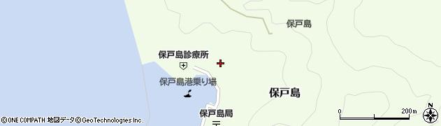 大分県津久見市保戸島1172周辺の地図