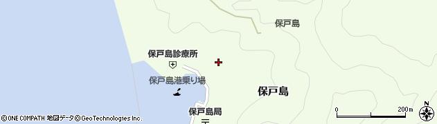 大分県津久見市保戸島1181周辺の地図