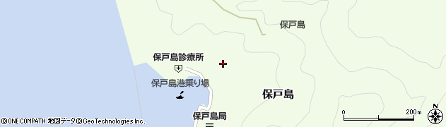 大分県津久見市保戸島1176周辺の地図