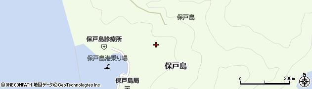 大分県津久見市保戸島1202周辺の地図