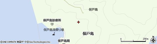 大分県津久見市保戸島1201周辺の地図