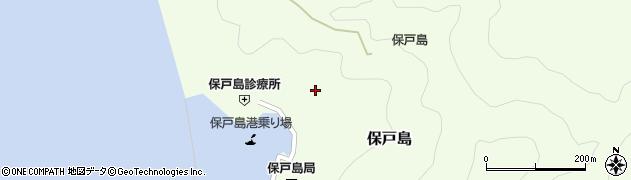 大分県津久見市保戸島1104周辺の地図