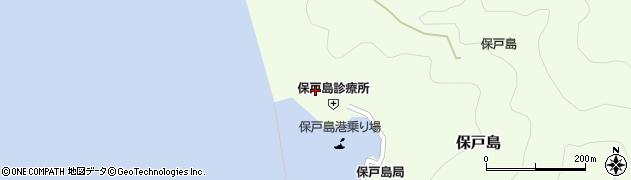 大分県津久見市保戸島879周辺の地図