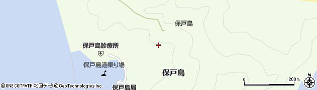 大分県津久見市保戸島1219周辺の地図