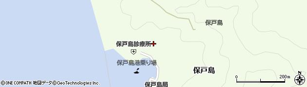 大分県津久見市保戸島1122周辺の地図